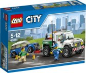 LEGO City Pick-up Sleepwagen - 60081