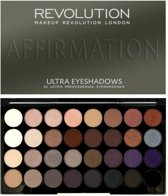 Makeup Revolution Ultra 32 Eyeshadow Palette Affirmation - Oogschaduw Palet