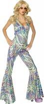 Disco catsuit voor dames 40-42 (m)