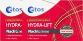 Etos Liftende Nachtcreme - 2 X 50 ml - Nachtcreme