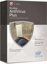 McAfee AntiVirus Plus 2015, 3 User (French)
