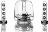 Harman Kardon SoundSticks Wireless - 2.1 speakerset met Bluetooth - Transparant