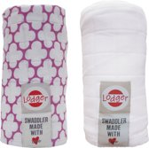 Swaddler 2-pack - Hydrofile doek - Mauve