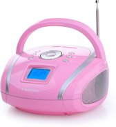 AudioSonic RD-1566 - Draagbare radio - Roze
