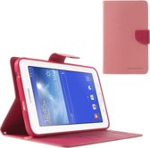 Samsung Galaxy Tab 3 Lite 7.0  Mercury Stand Case Hoes Lichtroze