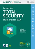 Total Security 2015 Benelux 3 User 1 Year DVD