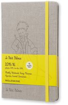 2016 Moleskine 18 month limited edition planner - P. Prince - weekly notebook - large - canvas - hard cover