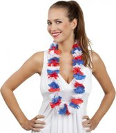 Toppers Hawaii krans rood/wit/blauw
