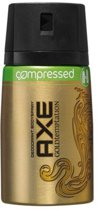 Axe gold temptation Body Spray - 100ml - compressed deodorant spray