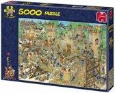 Jan van Haasteren Middeleeuwen - Puzzel - 5000 stukjes