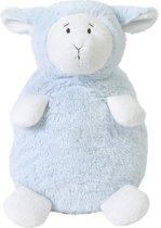 Happy Horse - Schaap Lammy Maat XL Liggend Blauw - Knuffel