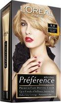 L'Oréal Paris Préférence Récital Haarkleuring - 9 Zeer Lichtblond