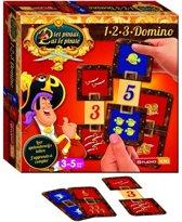 Piet Piraat Spel 1-2-3 Domino - Kinderspel