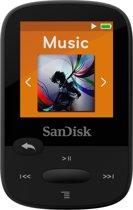 Sandisk Sansa Clip Sports - MP3-speler - 8 GB - Zwart