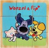 Woezel & Pip - Houten Blokken Puzzel