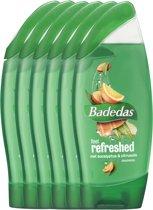Badedas Feel Refreshed - 250 ml - Douche Gel - 6 stuks - Voordeelverpakking
