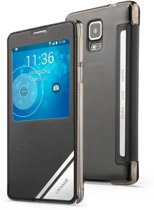 USAMS Flip Case Viva Series Samsung Galaxy Note 4 zwart