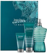 Jean Paul Gaultier Le Male Giftset EDT 125 ml, S/G 75 ml + AB 30 ml