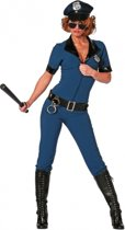 Politie jumpsuit voor dames 38 (m)