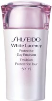 Shiseido White Lucency Protective Day Emulsion SPF15 Gezichtsemulsie 75 ml