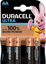 Duracell Ultra Power AA Alkaline Batterijen 4 Stuk