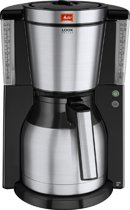 Melitta Look IV Therm De Luxe Koffiezetapparaat - RVS/Zwart