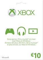 Xbox Live giftcard 10 euro