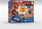 PlayStation Vita Console (2016) WiFi (Black) + Mega Pack Lego Voucher + Memory Card, 8GB  PS Vita