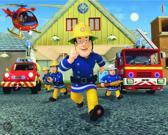Walltastic Posterbehang Brandweerman Sam