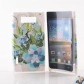 LG Optimus L7 P700 Hard Case Hoesje - Flower Forrest
