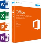 Microsoft Office 2016 Home & Student - Nederlands / Frans / Engels