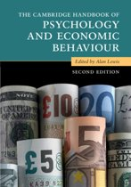 The Cambridge Handbook of Psychology and Economic Behavior