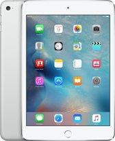 Apple iPad mini 4 Wi-Fi 16GB zilver MK6K2FD/A