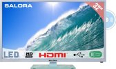 Salora 32LED2615DW - Led-tv/dvd-speler - 32 inch - HD-ready - Wit
