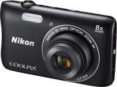 Nikon COOLPIX S3700 - Zwart