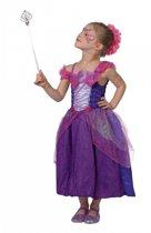 Paars prinsessen kostuum voor meisjes 128
