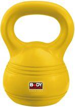Body Sculpture Kettlebell - 4 kg - Geel