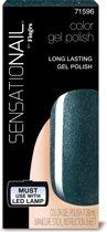 Sensationail Gel Polish - Ocean Sparkle - Groen - Gelnagellak