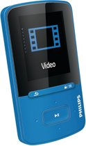 Philips GoGear Vibe - MP4 speler - 4 GB - Blauw