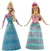 Disney Frozen Prinses Anna & Elsa - Barbie pop -Cadeauset