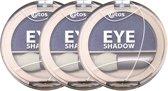 Etos Eyeshadow 010 - Paars - 3 stuks - Oogschaduw