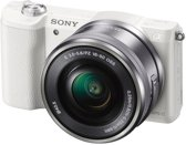 Sony Alpha 5100 + 16-50 mm - Systeemcamera - Wit