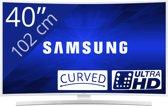 Samsung UE40JU6510 - Led-tv - 40 inch - Ultra HD - Smart-tv - Wit
