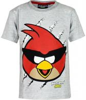 Angry Birds T-shirt Space Grijs-Maat: 116/122