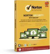 Norton Security 2.0 2015 met 25GB Backup - Nederlands / Frans / 1 Gebruiker / 10 Apparaten / 1 Jaar / Productcode zonder DVD