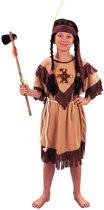 Voordelig indianen kinder jurkje 110-122 (4-6 jaar)