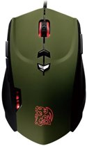 Tt eSports Theron Gaming Muis Military Green Edition PC