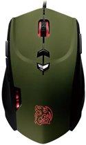 Tt eSports Theron Gaming Muis Military Green Edition PC