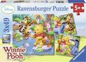 Ravensburger 3-in-1 Puzzel - Winnie Bij Het Vissen