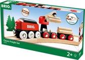 Brio Authentiek Trein Circuit Houttransport